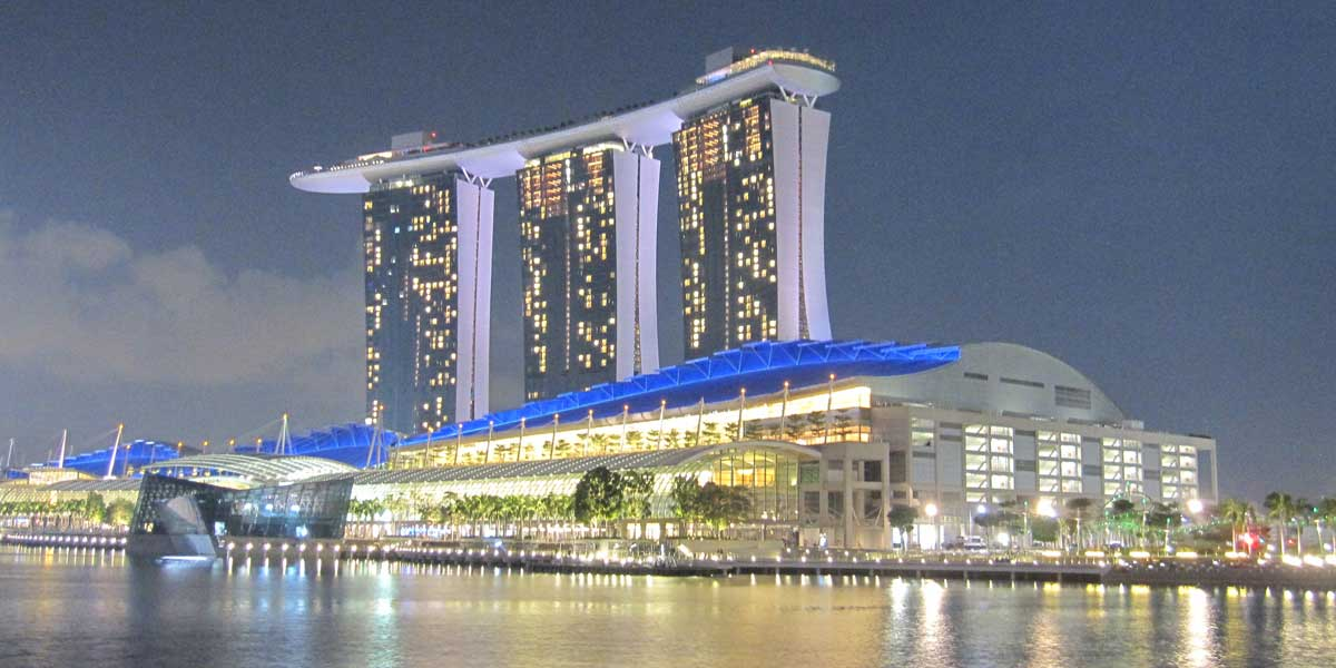 Marina Bay Sands Hotel in Singapore, Singapore
